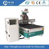Router de cinzeladura de madeira automático do CNC 3D para a venda