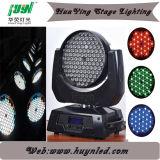高い明るさ108 3W LEDの移動ヘッド洗浄