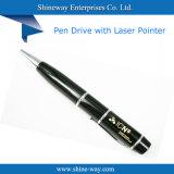 Pen Drive USB promocional com ponteiro laser (UFD-P030)