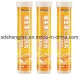 Tablettes effervescentes de vitamine C d'usine d'OEM de marque de distributeur