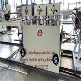 Máquina de piso de madera de plástico Máquina de tabla de piso de PVC interior