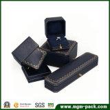 Роскошная восьмиугольная пластичная коробка ювелирных изделий с фермуаром