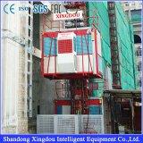 Aufbau-Gebäude-Hebevorrichtung-Passagier und materielle anhebende Hebevorrichtung