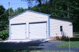 Garagem de aço de serviço público clara pré-fabricada da construção de aço (KXD-pH44)