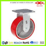 Rote PU-Hochleistungsfußrolle (P701-46D150X50Z)