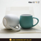 caneca cerâmica da promoção da bebida de leite do cliente 330ml