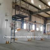 equipo de la refinería del aceite vegetal de la refinería de petróleo vegetal 100t