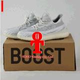 2017 com originais Yeezy da caixa 350 sapatas Running do impulso V2 para mulheres dos homens da venda 100% Sply-350 original Yeezys ostentam o transporte livre das sapatas