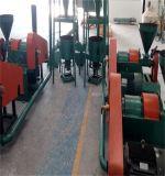 Linha de fabricação de pó de borracha de pneu usada / Linha de produção de lâminas de borracha Reclaimed