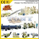 (A) Biomasse Pellet Ligne/ligne de granulés de bois complète de machines