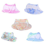 Forma de barco dobrável Baby Mosquito Netting Tent Bed