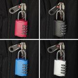 디지털 조합 수화물과 케이스와 부대 부호 자물쇠