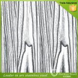 Textura decorativa de laminación de la placa de acero inoxidable con una muestra gratis