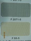 El rodillo de la ventana de la fibra de vidrio de la tela de la pantalla de Sun del acoplamiento de la fibra de vidrio sombrea la tela de la protección solar de las persianas de balanceo