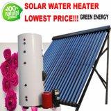 Calentador de agua partido del sistema de calefacción de la agua caliente de la presión con el colector solar del tubo de calor