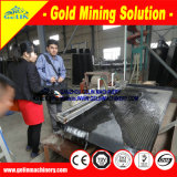 Gold verfeinern Maschinen-Schwerkraft-Konzentrator Wilfley, das Tisch für Goldtrennzeichen rüttelt