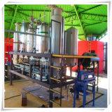 Pianta del biodiesel e biodiesel che fanno macchina