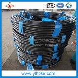 """Boyau hydraulique en caoutchouc développé en spirales flexible d'En856 4sh 1-1/4 """" 31mm"""