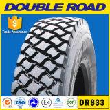 Los neumáticos sin tubo 11r24.5 del carro de las marcas de fábrica chinas de los neumáticos abren el hombro