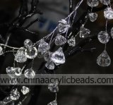 Faux Highquality Crystals Diamond Bead su Wire Strands Wired Branch Crystal Garland Flexible Wire per Wedding Centerpiece