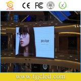 Cores SMD P6 tela LED digital para publicidade Shopping Interior de bicicleta ou fixo