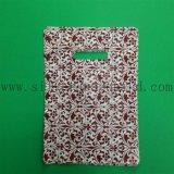 Sacchetto biodegradabile del regalo dell'elemento portante con la maniglia tagliata