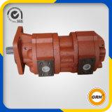 Bomba de petróleo rotatoria hidráulica en tándem doble de alta presión del engranaje