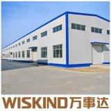 SGS vorfabrizierte Stahlkonstruktion-Werkstatt verschüttet mit Walzen-Tür