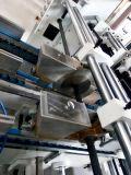 De Druk die van de Verpakking van de Doos van de Pizza van het Karton van het golfKarton Machine (gk-1200PC) maken