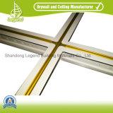 0,28-0.30mm d'épaisseur de couleur blanche et plafond de la grille à barre en T
