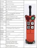 Longue radio F21-4D à télécommande de pont roulant de distance de contrôle