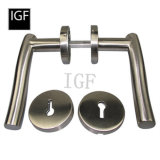 Quality Brass or Stainless Steel Wooden Door Handle (TH-801)