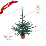 Decoração 100% artificial plástica do Natal da árvore de Natal do PE de H90-125cm