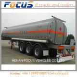 Tri remorque d'essence et d'huile de camion de mémoire de camion-citerne de camion lourd des essieux 50kl