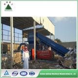 Máquina plástica da prensa de empacotamento da sucata hidráulica automática