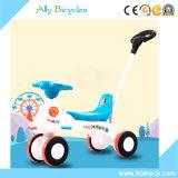"""""""trotinette"""" do bebê com Pushbar/carro do balanço dos brinquedos do veículo miúdo barato da fábrica"""