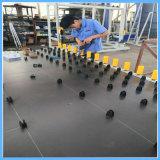 Ligne de traitement de verre isolante vertical
