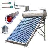 Unpressureのステンレス鋼の真空管のソーラーコレクタシステム太陽熱湯ヒーター