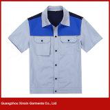 カスタマイズされた印刷の産業保護服装のユニフォーム(W113)