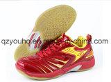 O voleibol dos homens calç sapatas profissionais do instrutor do Badminton das sapatilhas da ginástica interna
