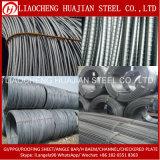 Barra deforme laminata a caldo principale/tondo per cemento armato dell'acciaio dolce per costruzione