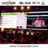 HD P3.91 stade intérieur Contexte grand mur vidéo de l'écran à affichage LED