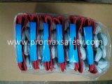 Met rubber bekleed Manchet Versterkt Goedgekeurd Ce van de Handschoenen van het Werk van de Koe van de Palm Gespleten