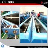 Línea eléctrica cadena de la protuberancia del tubo del conducto del PVC de producción/estirador