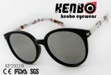 Gafas de sol del ojo de gato con el templo transferido modelo de papel Kp70310