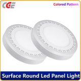 Painel de LED de iluminação do painel de LED luzes LED Redonda Cor dupla luzes para baixo