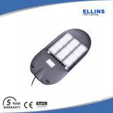 Luz de calle al aire libre de aluminio del LED 100 vatios con el programa piloto de Meanwell