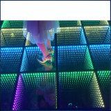 LEDの段階の結婚式の装飾のパネルの無限ミラーのダンス・フロア