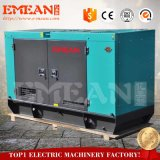 100kwディーゼル発電機のリカルドエンジン125kVAの無声ディーゼル発電機