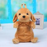 プラシ天動物犬のおもちゃの形の柔らかい子供のギフトのハンドメイドのバックパック
